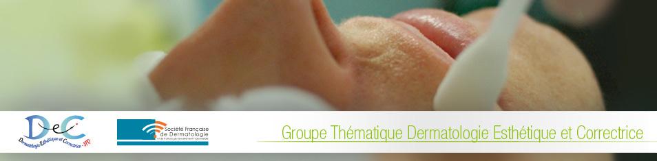 Groupe de Dermatologie Esthetique et Correctrice – gDEC